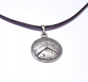 Shield Pendant 300 Spartan Warrior Necklace